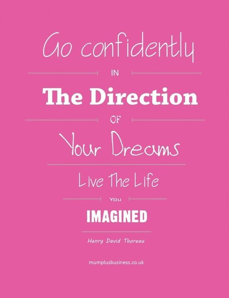 Making your dreams a reality in 2014 | Mum Plus Business | New Business Opportunities for Mums | Jobs for Mums Online | Business Mums Website | Mums In Business | Scoop.it