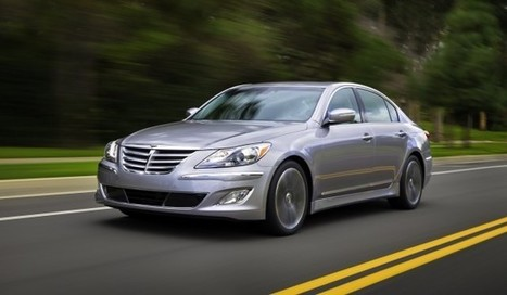 Hyundai Genesis V8 sedan on the cards for Oz | Cars and Road Safety | Scoop.it