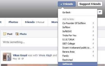 How To Hide Facebook Status From Your Girlfriend ~ Tricks For You | Customize Facebook Login Page | Scoop.it