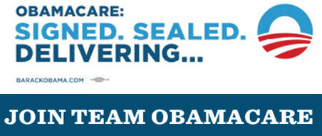 """JOIN TEAM OBAMACARE"" 