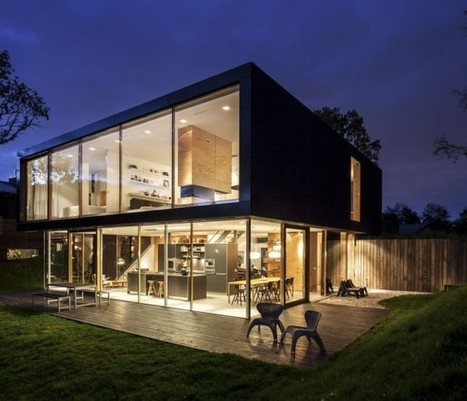 Villa V by Paul de Ruiter Architects. | Arquitectura: Unifamiliars | Scoop.it