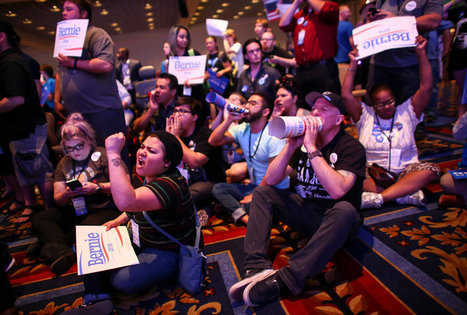 Bernie Sanders Supporters Voice Ire at Nevada Democratic Party | Online Misogyny | Scoop.it