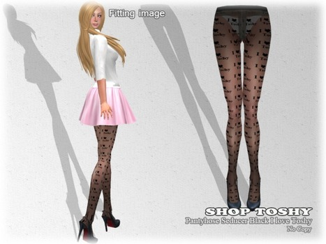 Panty Hose Seducer Black by SHOP Toshy | Teleport Hub | Second Life Freebies | Scoop.it