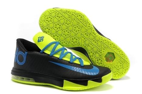 Nike Zoom KD 6 Black Blue Green for sale | Cheap KD Shoes | Scoop.it