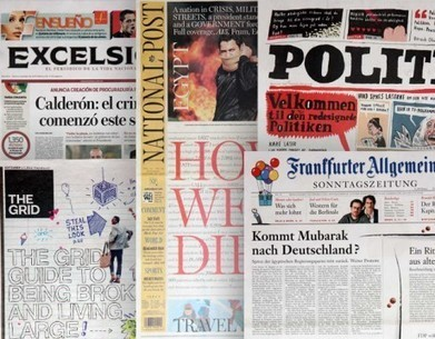 Conoce los 5 periódicos mejor diseñados del mundo   ciberperiodismo ciudadano   Scoop.it
