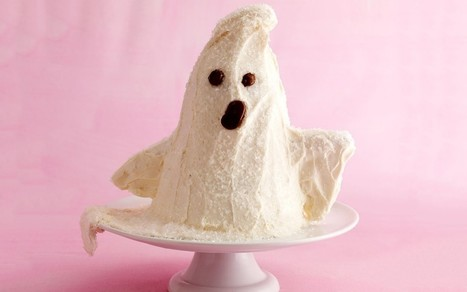 Boo! Bake a Spooky Ghost Cake for Halloween - PARADE | What's In The Oven? | Scoop.it