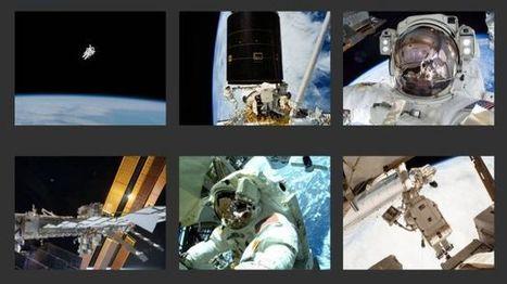 50 años de caminatas espaciales: las mejores fotos de la NASA | Lo que no sabias | Scoop.it