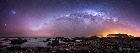 Princess Bay Aurora and Milky Way   Astronomy   Scoop.it