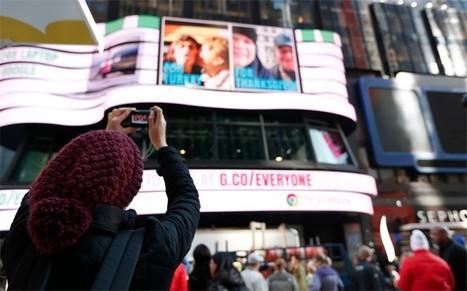 Google's 'gallery for everyone' lets you take over Times Square, say ... | Integración de Google apps en educación | Scoop.it