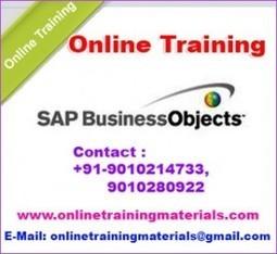 SAP Business Object online training institute in Ameerpet, SAP Business Object Online Training Institute from Hyderabad India.   Online Training Materials   Online Training   Scoop.it