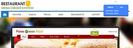 Restaurant Menu Order System - Single Restaurant Script   Roamsoft Technologies Pvt Ltd   Scoop.it