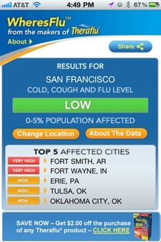 WheresFlu App from Novartis Consumer Health | Healthcare Innovation | Scoop.it
