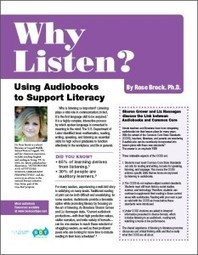 Why Listen? Using Audiobooks to Support Literacy | Books on Tape | School Library Advocacy | Scoop.it