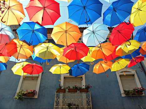 The Umbrella-Lined Streets of Agueda, Portugal | Travel | Scoop.it