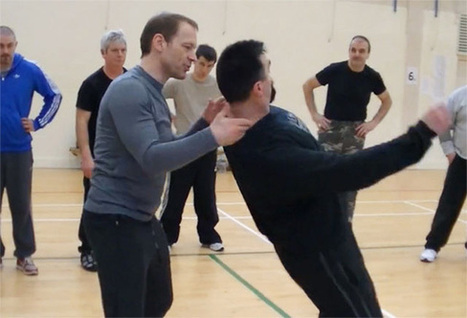 """Creative use of atemi! Systema with Martin Wheeler: """"Structure ... 