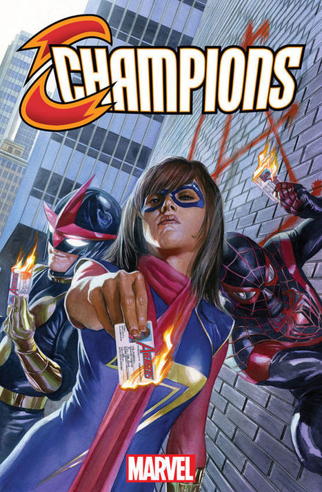 Why THE CHAMPIONS Is the Future of the Marvel Cinematic Universe | Comic Book Trends | Scoop.it