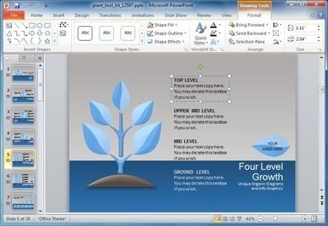 Animated Plant Growth PowerPoint Template | PowerPoint Presentation | Fremlæggelser-Gode online værktøjer | Scoop.it