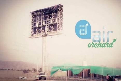 Hydroponic Billboard Grows Thousands of Lettuce Heads Each Week | MarketingHits | Scoop.it