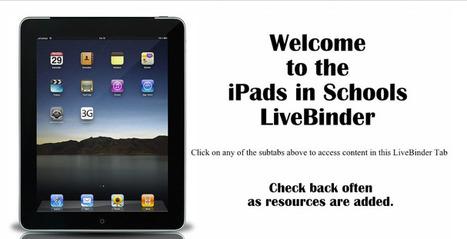 iPads in Schools - LiveBinder   iPad Apps for Middle School   Scoop.it