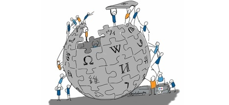 "Wikipédia : ""l'encyclopédie participative en ligne est géniale, mais..."" 