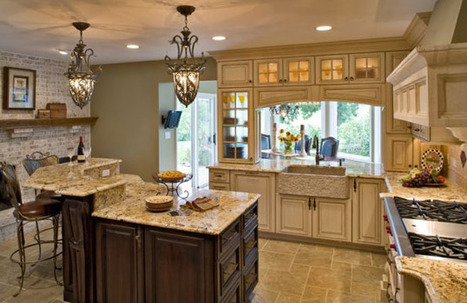 Country Kitchen Design Ideas - EvDes | Kitchens | Scoop.it