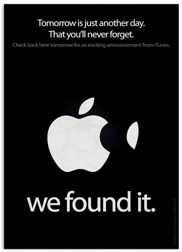 Quand Apple déclare : « Tomorrow is just another day. That you'll never forget. » | Baie d'humour | Scoop.it