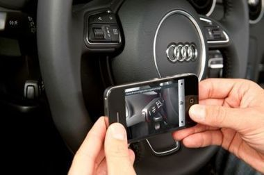 Audi : Un mode d'emploi sur iPhone en réalité augmentée - iPhone 5, 4S, iPad, iPod touch : le blog iPhon.fr | Les usages du Web | Scoop.it