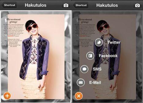 Olivia ja Costume julkistivat interaktiiviset lehdet - Uutiset - Markkinointi&Mainonta | Augmented Reality & VR Tools and News | Scoop.it