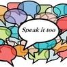 Speak it too students' blogs