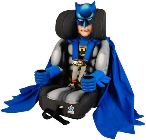 Batman Toddler Booster Car Seat | Amazing Geeks | Scoop.it