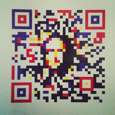 QR Mona Lisa | artcode | Scoop.it