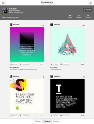 Instagram tekstille | Tablet opetuksessa | Scoop.it