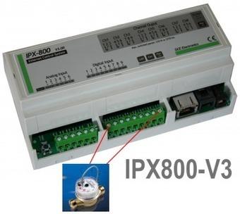 Compteur d'eau & IPX800 | Domotique Info | Domotique Info | Scoop.it