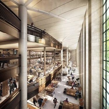 New York Public Library Renovation Plans Revealed - GalleyCat | Be Bright - rights exchange news | Scoop.it