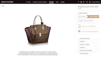 Gucci, Louis Vuitton craft best digital customer experience: report - Luxury Daily - Research | Digital & eCommerce | Scoop.it