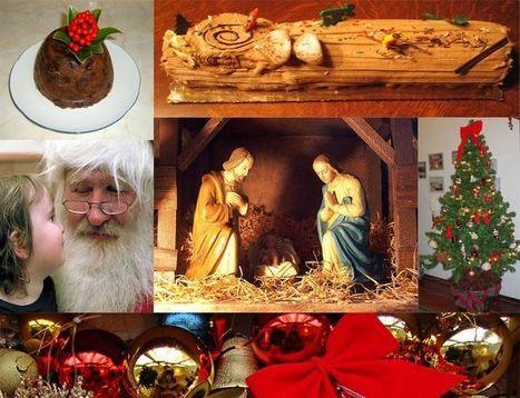 La bûche de Noël de l'origine à nos jours et ses superstitions | Cité de la Gastronomie | Scoop.it