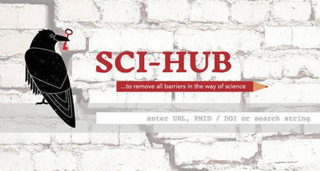 Free science journal library gains notoriety, lands injunctions | Innovation and the knowledge economy | Scoop.it