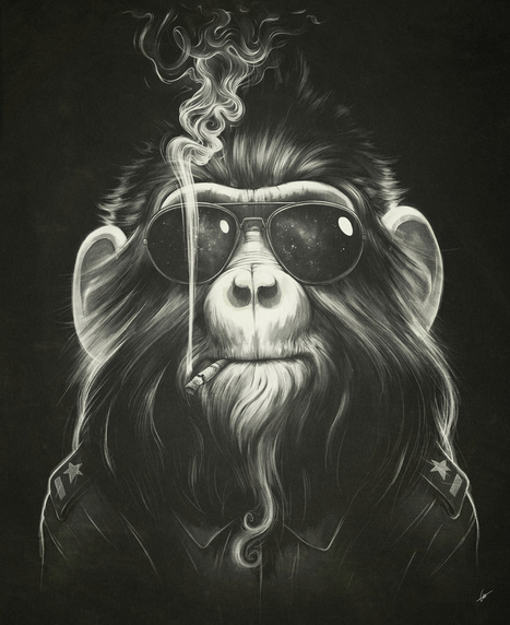 Lukáš Brežák | Illustrator | Digital-Artist | les Artistes du Web | Scoop.it
