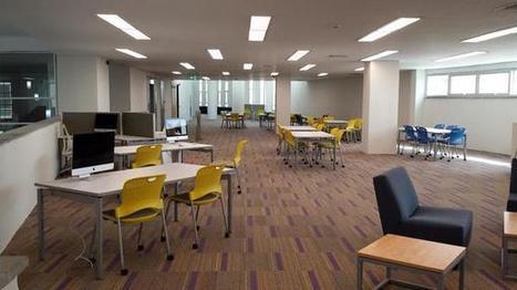 Hammad Siddiqui on Twitter: Library at @HabibUniversity #Design #UX #minimalism http://t.co/uNM9EBIHpl | Library design | Scoop.it