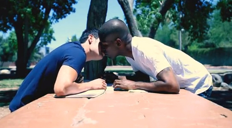 US rapper kisses man for gay rights in new video | LGBT Times | Scoop.it