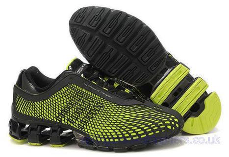 Adidas Porsche Design Sport Bounce S3 Running Trainers Black Green.jpg (640x440 pixels) | springbladeuktrainers.co.uk | Scoop.it