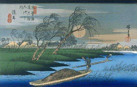 Ando Hiroshige : présentation intégrale de ses oeuvres | Les 53 relais du Tôkaidô | Scoop.it