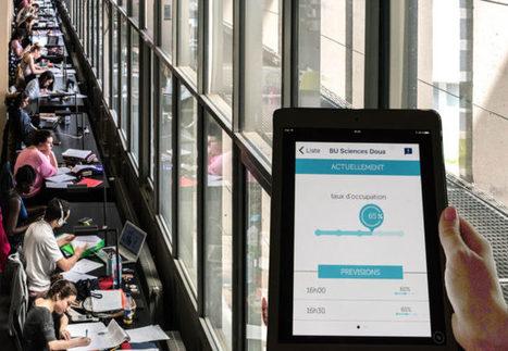Bibliothèque Universitaire de Lyon 1 : l'optimisation fait bondir la fréquentation | Vie des Bibliothèques | Scoop.it
