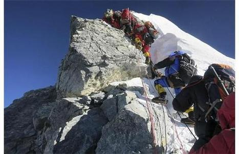 Nepal plans to ease traffic jam of climbers on Mount Everest during peak climbing season   Sports Medicine   Scoop.it