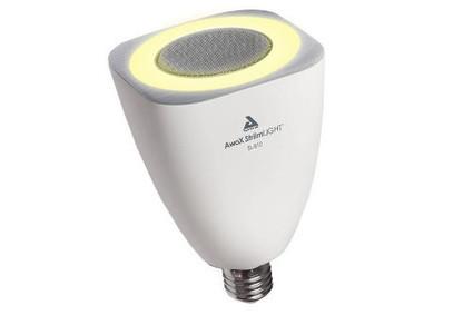 Awox Striim Light, une ampoule LED qui fait haut parleur | Domotique | Scoop.it