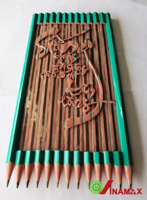 Bút chì khắc chữ một sản phẩm handmade độc đáo sáng tạo của giới trẻ hiện nay. | Đồ Handmade - Qùa tặng sáng tạo | Scoop.it