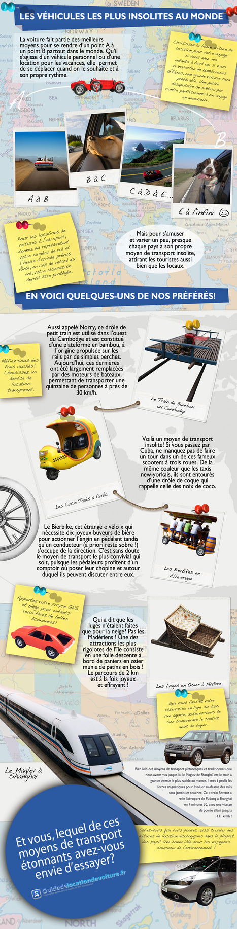 Voyager en voiture de location | French Infographics & Quotographics | Scoop.it