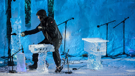 8 Otherworldly Songs Performed On Instruments Made Of Ice   Strange days indeed...   Scoop.it