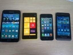 BlackBerry 10: uno smartphone RIM in buona compagnia | franzfume news roller | Scoop.it