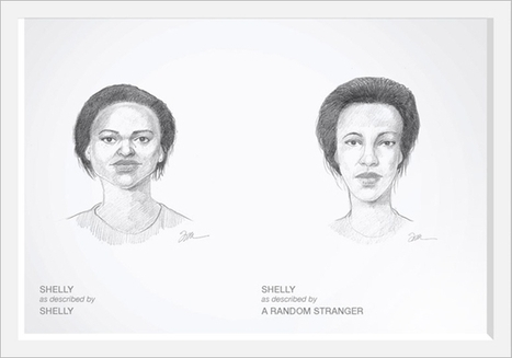 Dove Hires Criminal Sketch Artist to Draw Women as They See Themselves and as Others See Them | S'emplir du monde... | Scoop.it